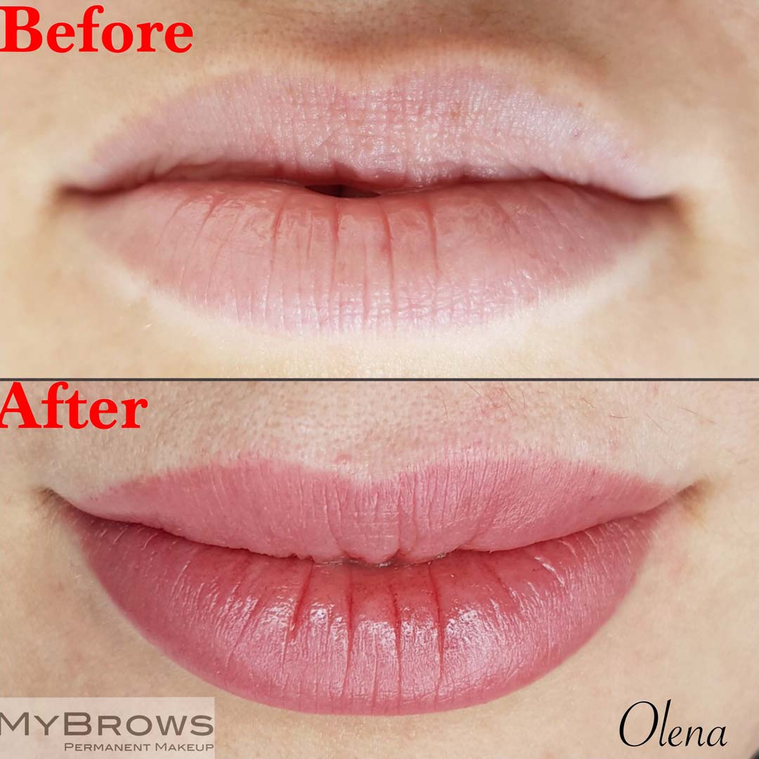Permanent Makeup Lips